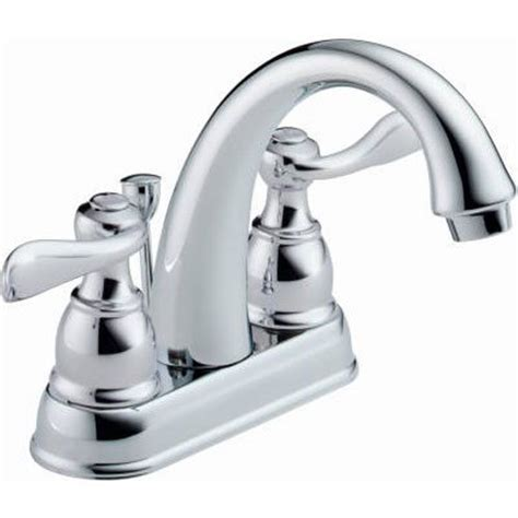 delta windemere centerset 2 handle bathroom faucet