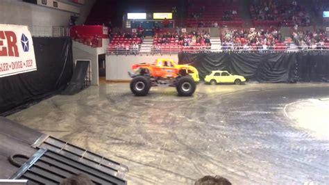 monster truck shows near me monster trucks at the show me center youtube