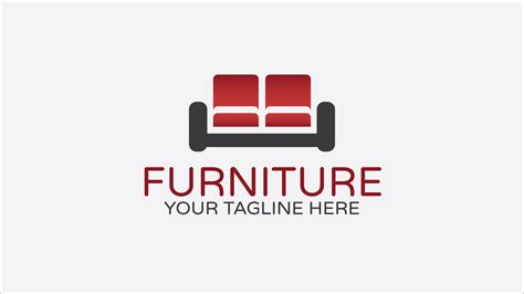 furniture  logo design zfreegraphic  vector