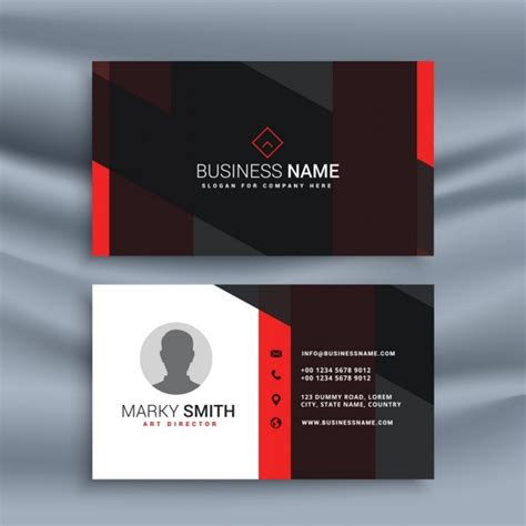 cards profile vectors   psd files
