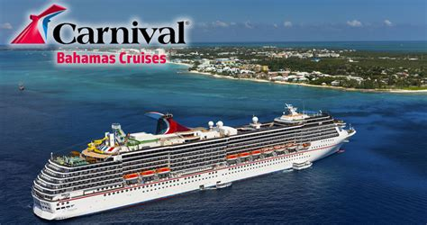 Boat Rides From Miami To Nassau by Carnival Cruises To The Bahamas Bahamas Carnival Cruise