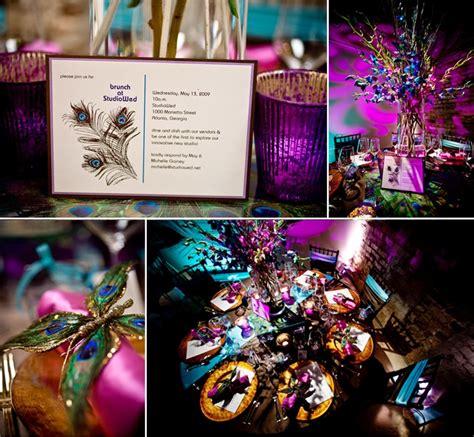 Fleur+fiona The Peacock Wedding