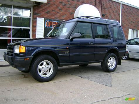 blue land rover discovery 1999 oxford blue metallic land rover discovery sd 6388190
