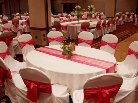 Red And White Wedding Decorations Wedding Decoration