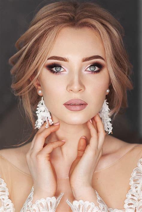 soft wedding makeup inspiring ideas  stylish zoo