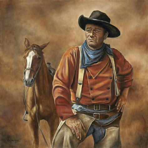 wayne john western cowboy cowboys movies paintings painting duke kim horse searchers oeste diamond searching quotes lockman film westerns movie