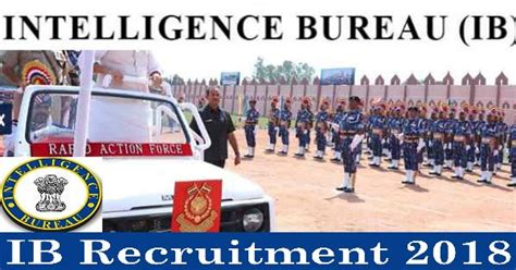 Ib Recruitment 1054 Security Assistant Posts Wwwncsgov