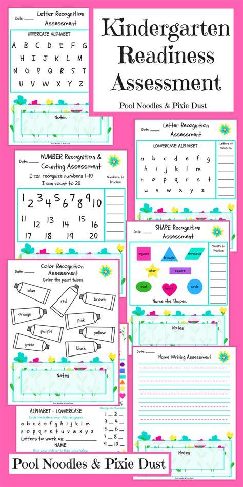 kindergarten readiness assessment pool noodles amp pixie dust 895   Add heading 3