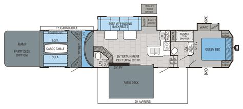 Jayco 5th Wheel Hauler Floor Plans by 2015 Fifth Wheel Floor Plans Autos Post
