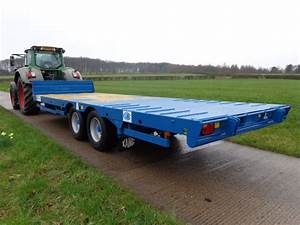 Kane Lbt 16t  U2013 800 16 Ton Hydraulic Beaver Tail Low Loader