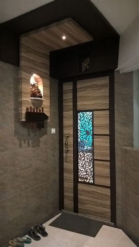 Home Interior Entrance Design Ideas by 3 Bhk Residential Project 2014 Houses By Sharada