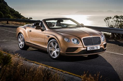 2018 Bentley Continental Gt Convertible Front Three