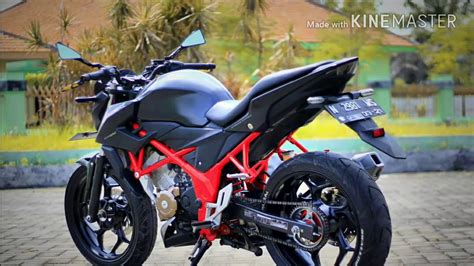 All New Cb150r by All New Cb150r Reptor Black
