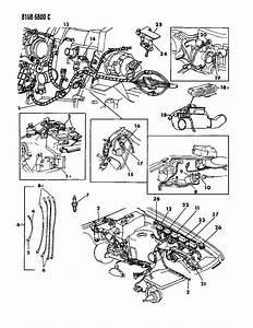 1988 Dodge Caravan Wiring - Engine