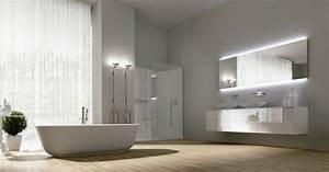 Moderne Badezimmer Beleuchtung : badezimmer modern einrichten 31 inspirierende bilder ~ Sanjose-hotels-ca.com Haus und Dekorationen