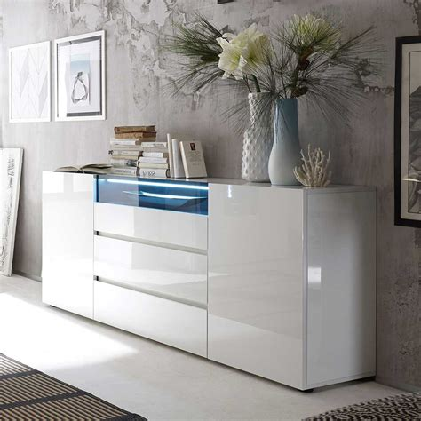 design sideboard cleo mit led beleuchtung pharaode