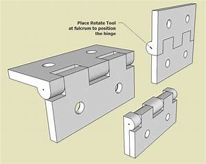 Creating a Hinge in SketchUp - FineWoodworking