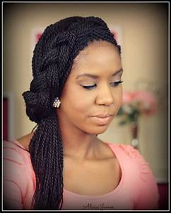Senegalese twists styles