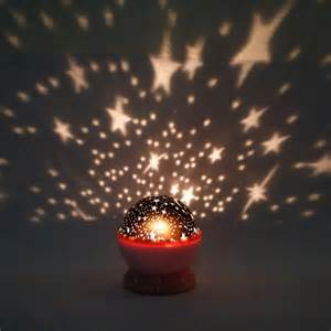 new rotation night projector light l star sky romantic fairy random color ebay