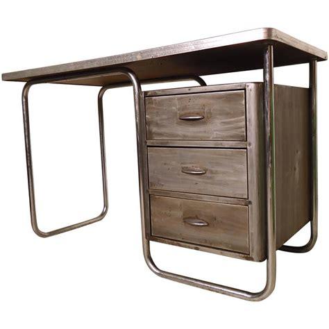 vintage metal desk for sale refinished vintage metal desk at 1stdibs