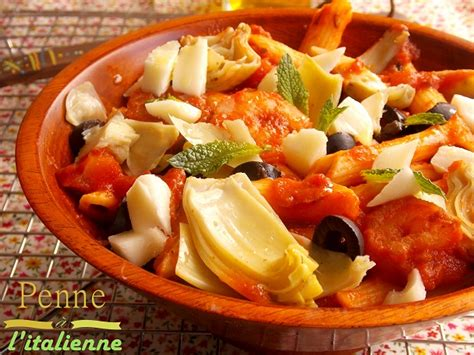 cuisine à l italienne penne a l 39 italienne crevettes sauce marinara le