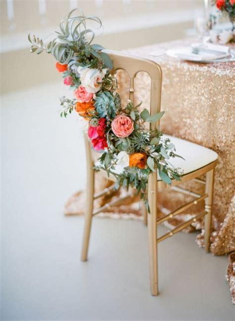 deco chaise mariage déco mariage six idées pour décorer vos chaises save