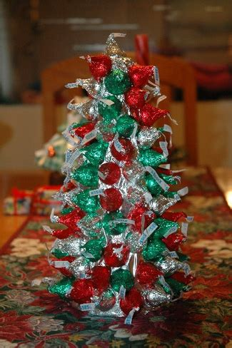hershey kisses christmas crafts tree macaroni kid