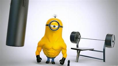 Fitness Minions Despicable Wallpapers Gym Minion Desktop