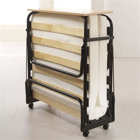 portable folding bed memory foam folding guest bed contract ready single