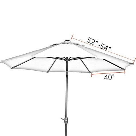 abba patio 9ft vented market umbrella replacement canopy