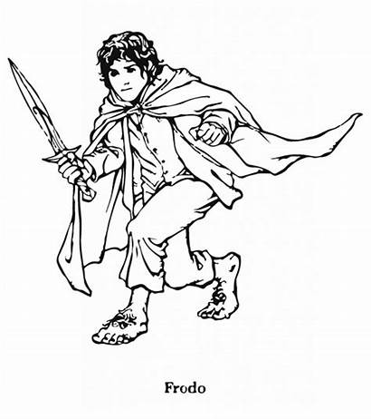 Coloring Pages Rings Lord Hobbit Printable Momjunction