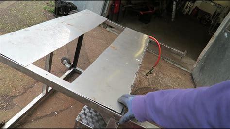 grill aus edelstahl selber bauen grill selber bauen aus edelstahl teil 4 vlog 88