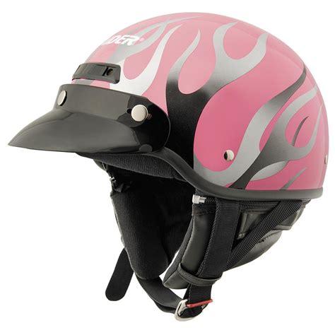 Raider Deluxe Half Motorcycle Helmet  216793, Helmets