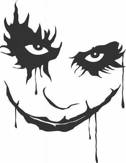 Joker Face Decal