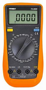600v Ac  Dc Manual Ranging Digital Multimeter