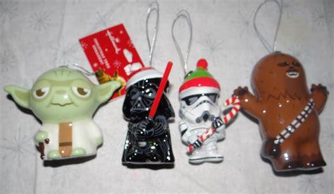 2015 star wars hallmark christmas ornaments set of 4 darth