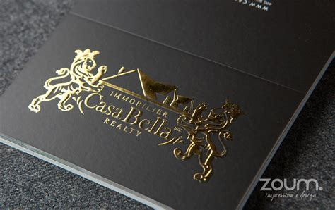 metallic hot foil stamping  zoum
