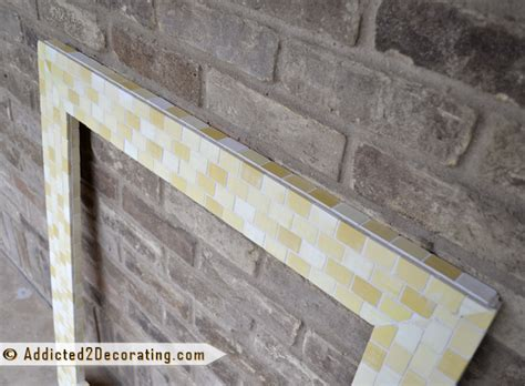Diy Mosaic Wood Tile Mirror