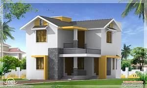 Feet Simple Budget Home Design Kerala Floor Plans ...