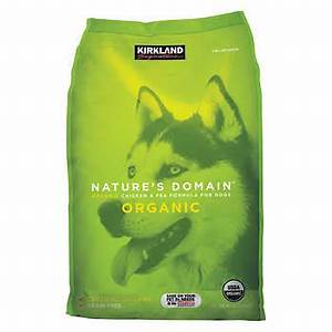 Kirkland signature nature39s domain organic chicken pea for Costco dry dog food