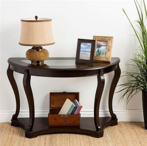 narrow console table with storage table with storage
