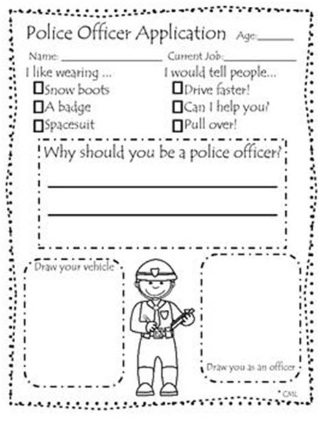 police officer lesson plans for preschool community helpers applications fair 262