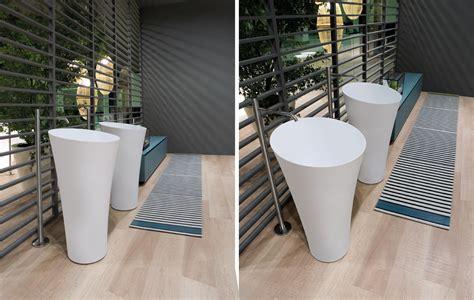 Modern Bathroom Freestanding Sinks by Tuba Freestanding Sink By Antonio Lupi Ambient Showroom
