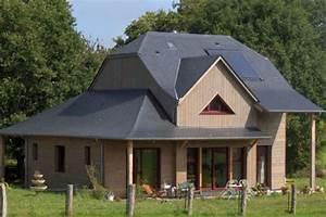 Maison Bioclimatique Passive : construction maison passive ossature bois mayenne 53 ~ Melissatoandfro.com Idées de Décoration