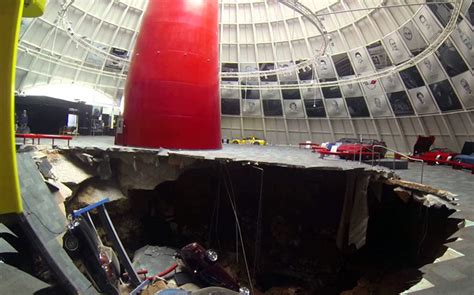 Corvette Museum Sinkhole Size by Sinkhole Devours Valuable Cars At The National Corvette
