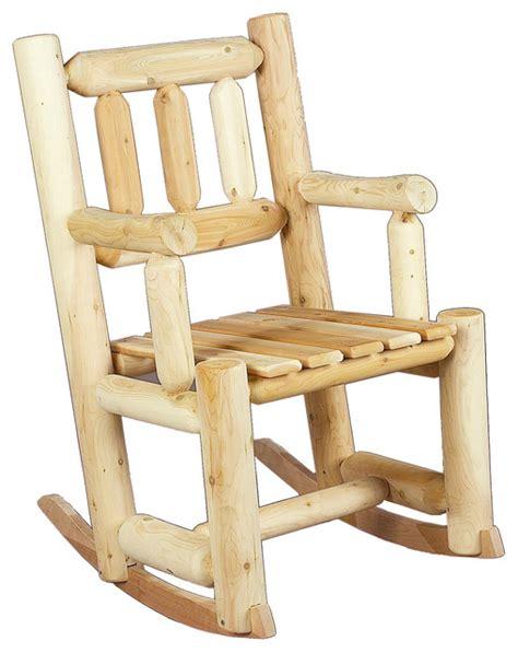 rustic cedar 010003a wooden porch rocker rustic