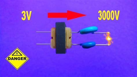 Diy High Voltage Generator How Make Stun Gun Circuit
