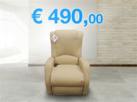 Poltrona Relax Economica Reclinabile Italiana