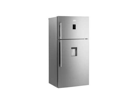 frigo distributeur d eau beko refrigerateur frigo porte inox 556l a froid