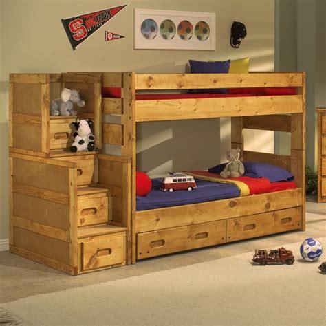 trendwood bunk beds trendwood wrangler bunk bed bedroom collection